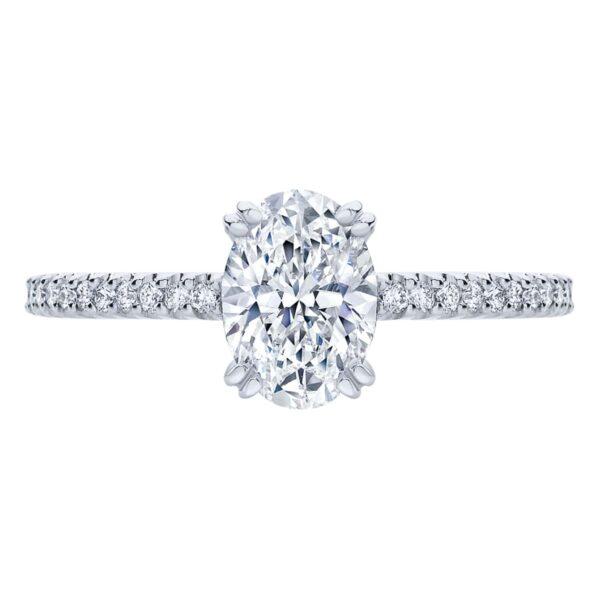 Aurelia White Gold Engagement Ring