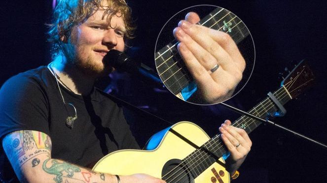 Is Ed Sheeran Bringing Back the Mans Engagement Ring?