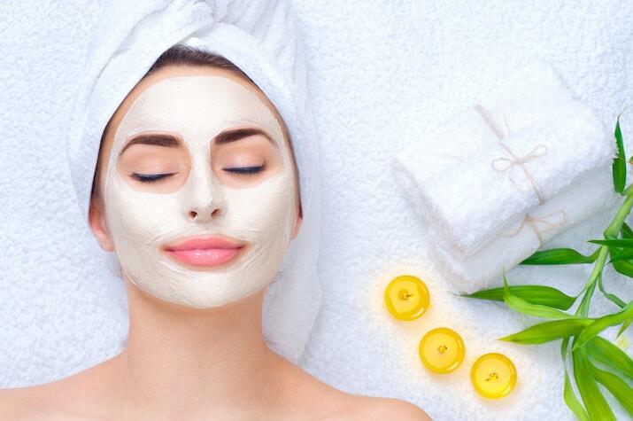 Bridal facial treatment