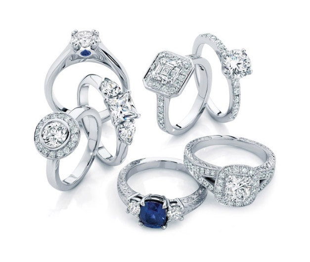 Our 10 Most Popular Engagement & Wedding Rings