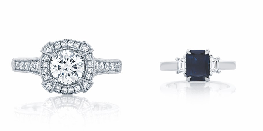 7 Unique Engagement Rings Made by Us