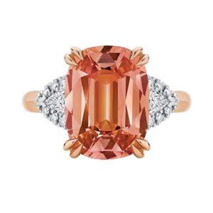 Malaya Rose Gold Engagement Ring