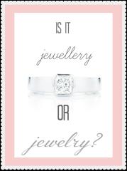 How is 'Jewellery' Spelt in Australia