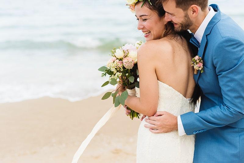 Groom takes bride's name