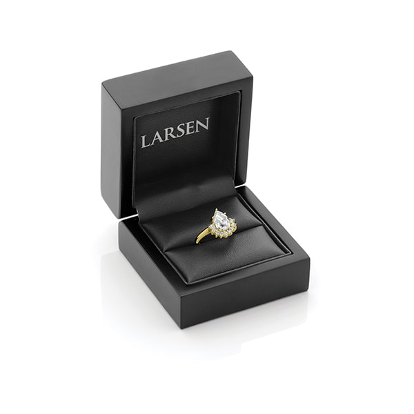 Celestial Yellow Gold Engagement Ring