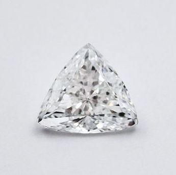 Trilliant cut diamond