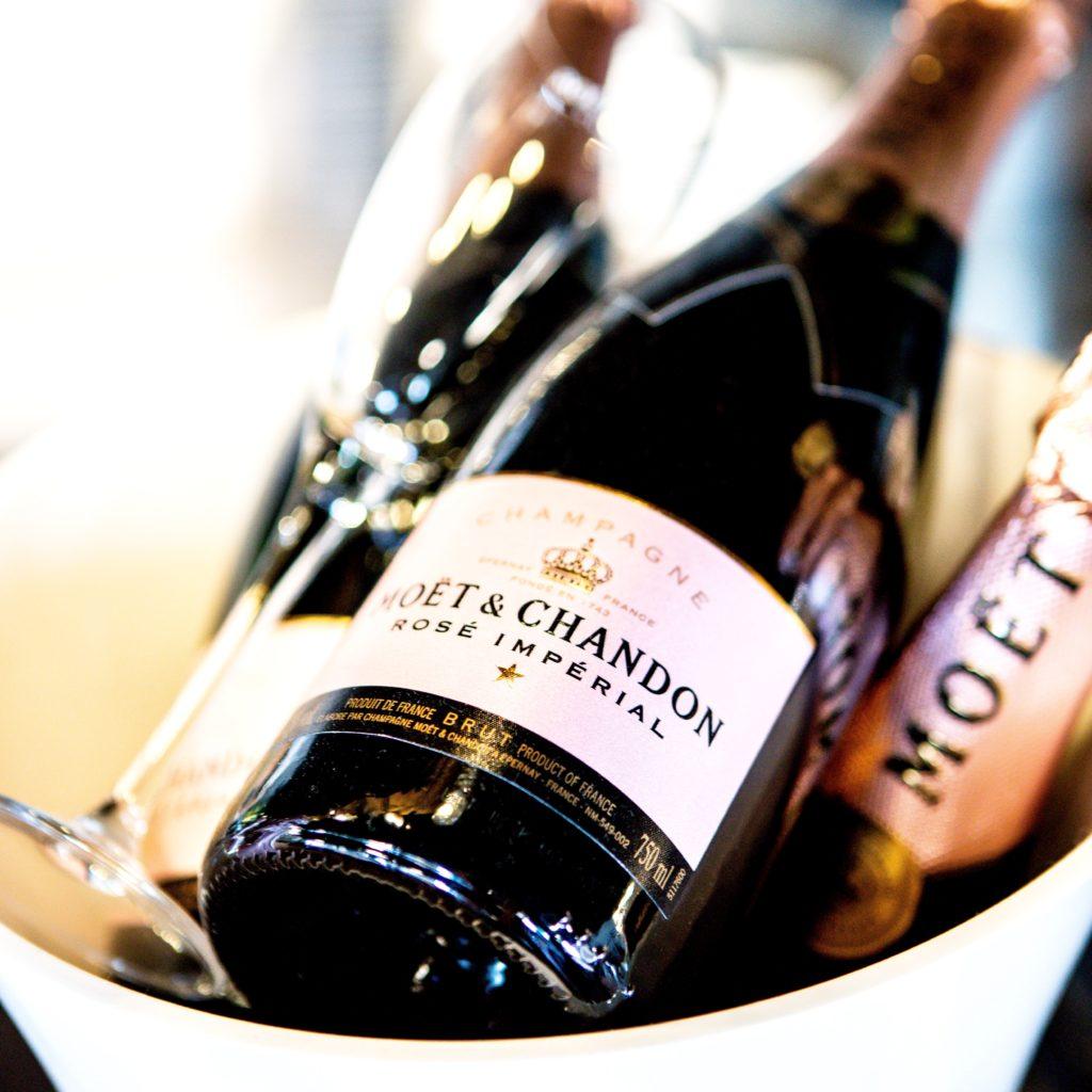 Moet Chandon champagne
