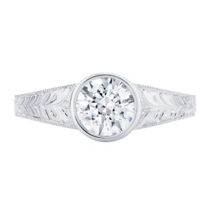 Empress White Gold Engagement Ring