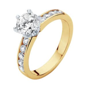 Encore Yellow Gold Engagement Ring
