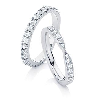 Women's Wedding Ring Designs by Australian Designers at Larsen Jewellery