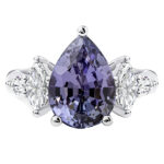 Tanzanite engagement or dress ring