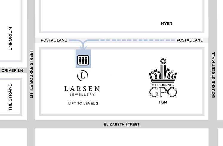 Larsen Jewellery Location