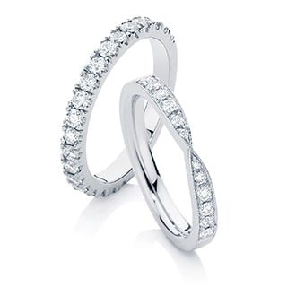 Women's Wedding Ring Designs by Australian Designers at Larsen Jewellery in Melbourne