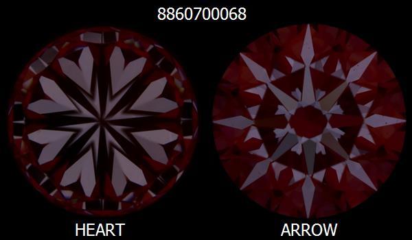 0.56 Carat Round Diamond