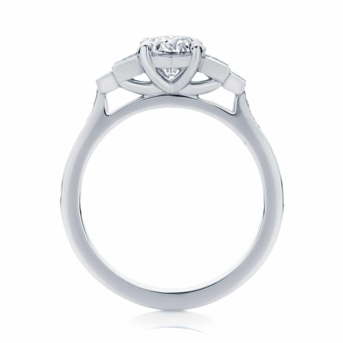 Round Other Engagement Ring Platinum   Liberty