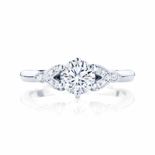 Round Other Engagement Ring Platinum | Morning Star
