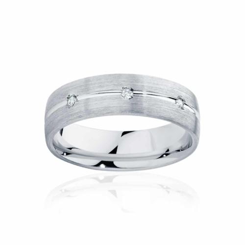 Mens Platinum Wedding Ring|Apollo