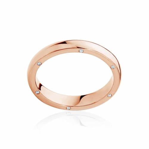 Womens Rose Gold Wedding Ring|Astoria