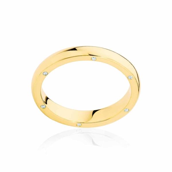 Womens Yellow Gold Wedding Ring|Astoria