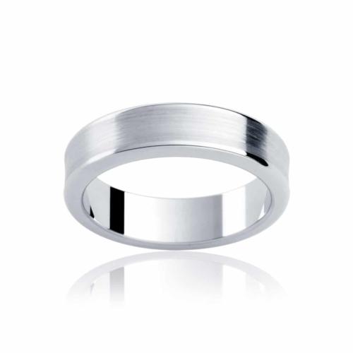 Mens Platinum Wedding Ring|Atlas