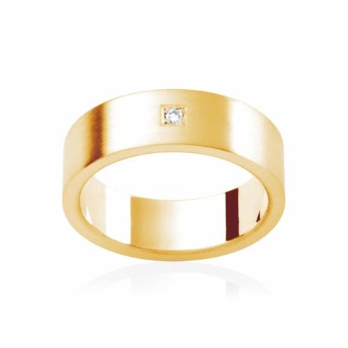 Mens Yellow Gold Wedding Ring Berkshire