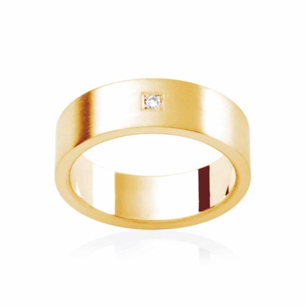 Mens Yellow Gold Wedding Ring|Berkshire