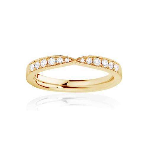 Womens Yellow Gold Wedding Ring Darling