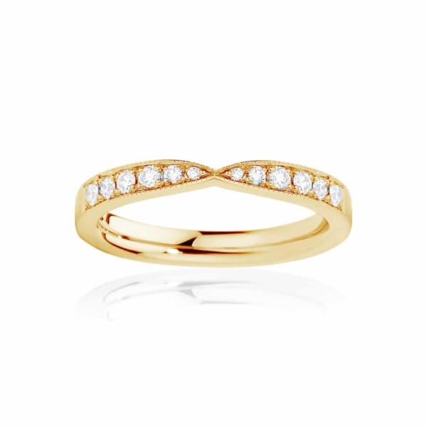 Womens Yellow Gold Wedding Ring|Darling