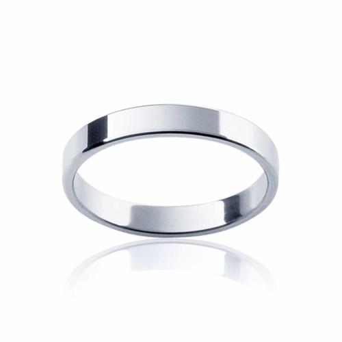 Womens Classic Platinum Wedding Ring|Fine Neo