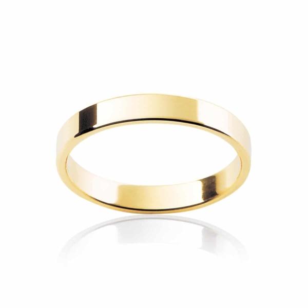Womens Classic Yellow Gold Wedding Ring|Fine Neo