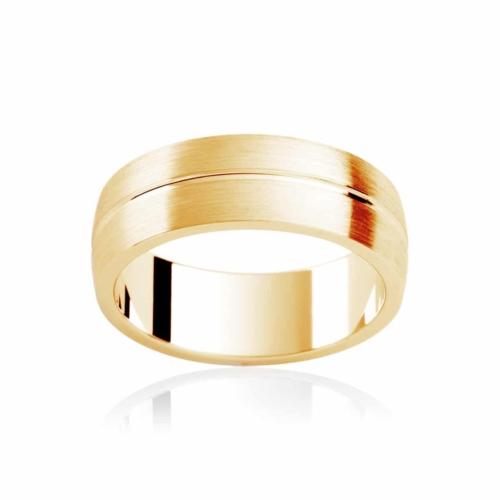 Mens Yellow Gold Wedding Ring Grange