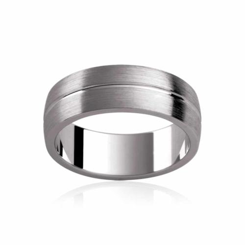 Mens Titanium Wedding Ring|Kyoto