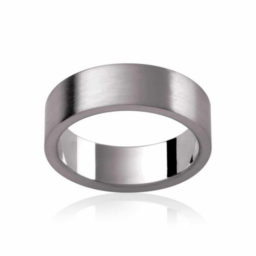 Mens Titanium Wedding Ring|Mode