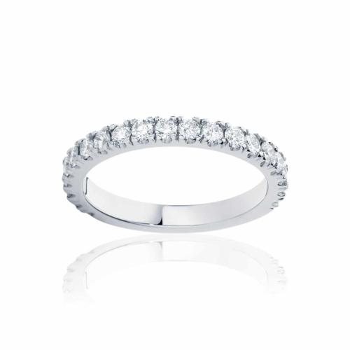 Womens White Gold Wedding Ring|Novo
