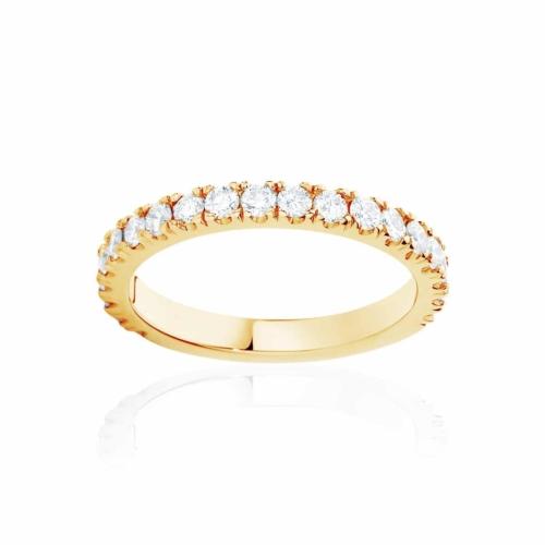 Womens Yellow Gold Wedding Ring Novo