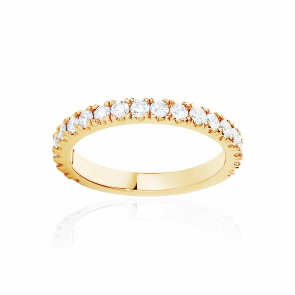 Womens Yellow Gold Wedding Ring|Novo