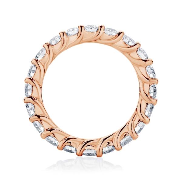 Womens Rose Gold Wedding Ring|Ripples