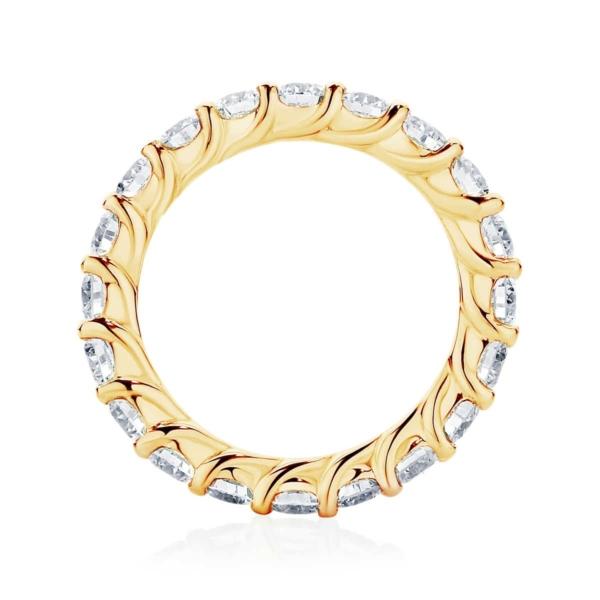 Womens Yellow Gold Wedding Ring|Ripples