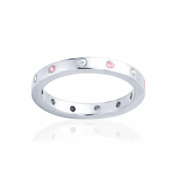 Womens White Gold Wedding Ring|Sakura