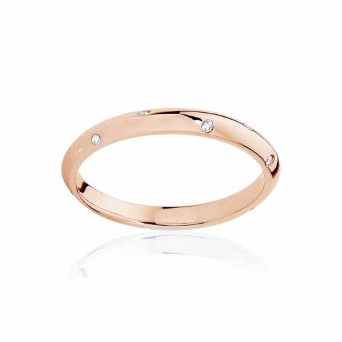 Womens Rose Gold Wedding Ring Seville