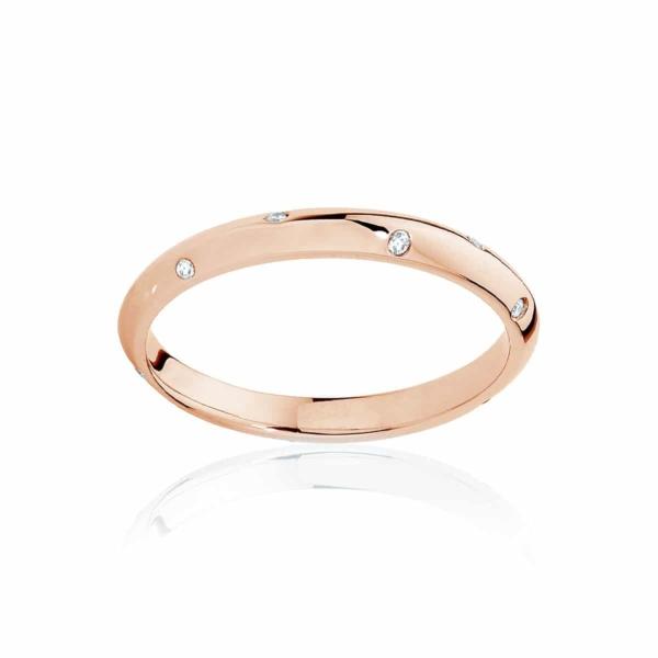 Womens Rose Gold Wedding Ring|Seville