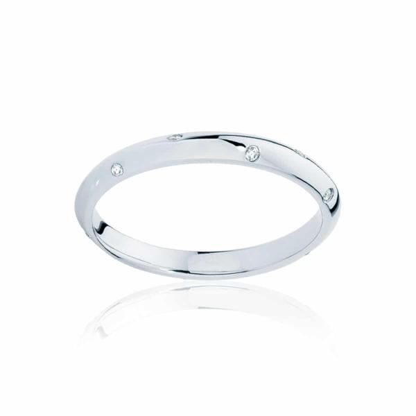 Womens White Gold Wedding Ring|Seville