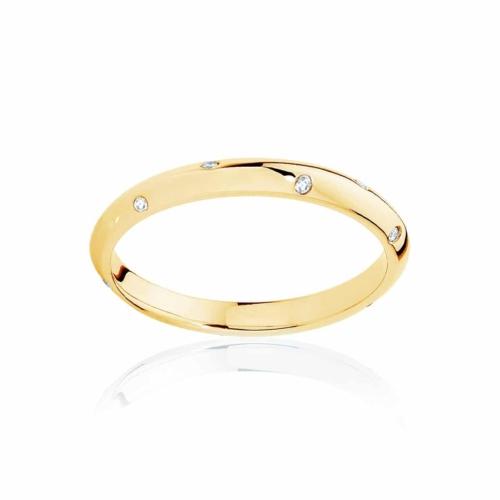 Womens Yellow Gold Wedding Ring Seville