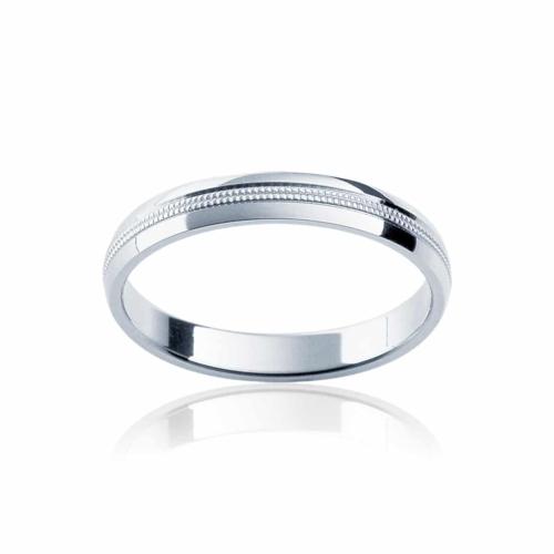 Womens Classic Platinum Wedding Ring|Sonoma