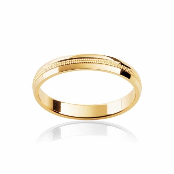 Womens Classic Yellow Gold Wedding Ring Sonoma