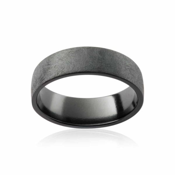 Mens Zirconium Wedding Ring|Summit