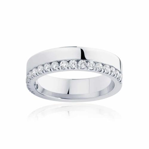 Womens White Gold Wedding Ring Thea