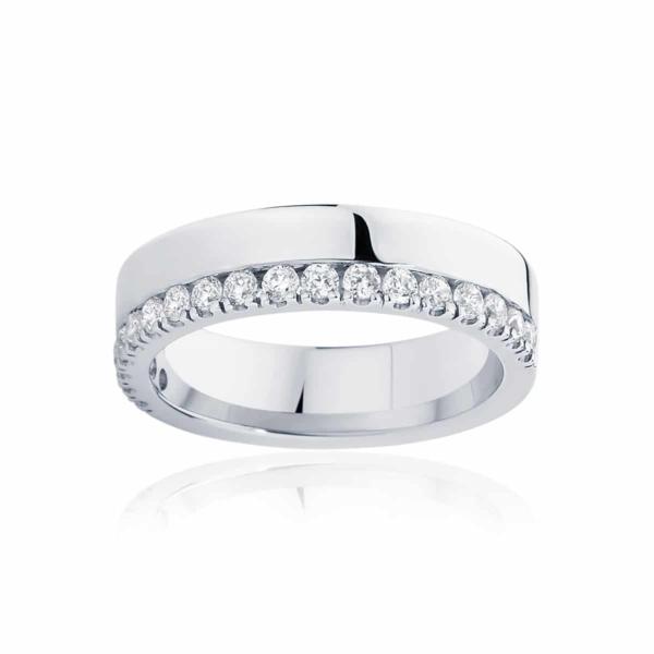 Womens White Gold Wedding Ring|Thea