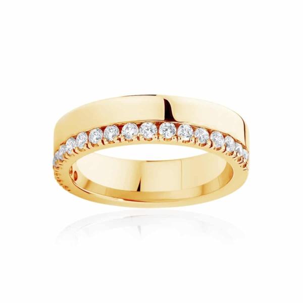 Womens Yellow Gold Wedding Ring Thea