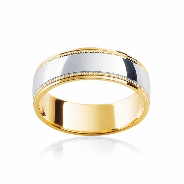 Mens Yellow Gold Wedding Ring|Umbria